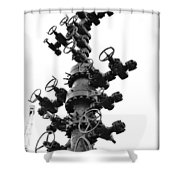 Christmas Tree II Shower Curtain