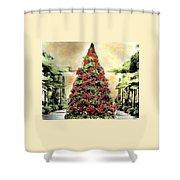 Christmas Tree Oh Christmas Tree Shower Curtain