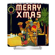 Christmas Wise Men Xmas Shower Curtain