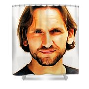 Christopher Eccleston Shower Curtain
