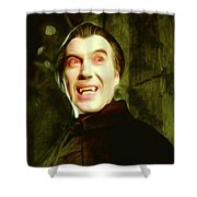 Christopher Lee, Dracula Shower Curtain