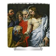 Christ's Charge To Peter  Shower Curtain