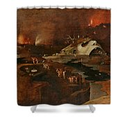 Christ's Descent Into Hell Shower Curtain