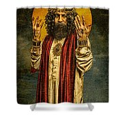 Christus Resurrexit Shower Curtain