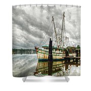 Christy Lynn On Bon Secour Shower Curtain by Michael Thomas