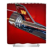 Chrome Shower Curtain
