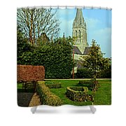 Church Garden Shower Curtain