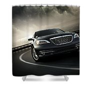 Chrysler 200 Shower Curtain