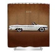 Chrysler 300d 1962 Shower Curtain