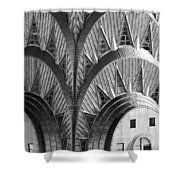 Chrysler Building Crown Shower Curtain