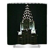 Chrysler Building In Manhattan New York City Shower Curtain