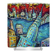 Chrysler Building Shower Curtain