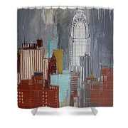 Chrysler Building, New York Shower Curtain