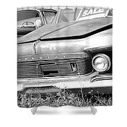 Roadside Imperials -  Bw Shower Curtain