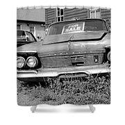Chrysler Imperials - Bw Shower Curtain