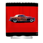 Chrysler Town And Country Convertible Roadster Shower Curtain