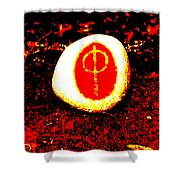 Chthonici Cosmica Shower Curtain by Eikoni Images