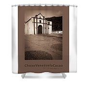 Chuao Cocoa Cacao Venezuela Shower Curtain