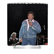 Chubby Checker Shower Curtain