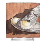 Chucks Shower Curtain by Ken Powers