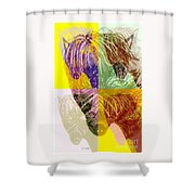 Chunky Shower Curtain
