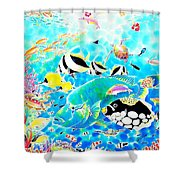 Churaumi Dream Shower Curtain