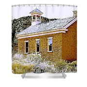 Church - Grafton Utah Shower Curtain