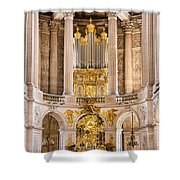 Church Altar Inside Palace Of Versailles Shower Curtain