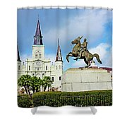 Church And State Shower Curtain