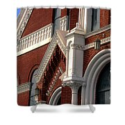 Church Architecture Shower Curtain