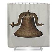 Church Bell Shower Curtain