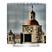 Church Bell Tower, Old Havana Shower Curtain