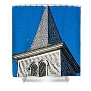 Church Drawing Shower Curtain
