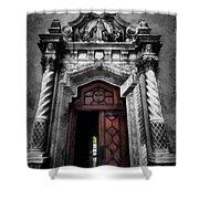 Church Entrance Shower Curtain