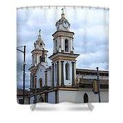 Church Facade Shower Curtain