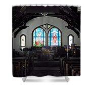 Church - Grand Caymans Shower Curtain