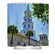 Church In Charleston Shower Curtain