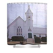 Church In Damascus Maryland Shower Curtain
