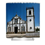 Church In The Azores Shower Curtain