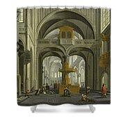 Church Interior Shower Curtain