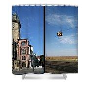 Church Shower Curtain by James W Johnson