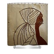 Church Lady - Tile Shower Curtain