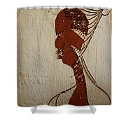 Church Lady 10 -tile Shower Curtain