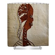 Church Lady 11 - Tile Shower Curtain
