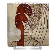 Church Lady 5 - Tile Shower Curtain