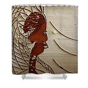 Church Lady 7 - Tile Shower Curtain
