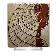 Church Lady 8 - Tile Shower Curtain