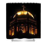 Church Lights Shower Curtain