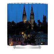 Church Night Shower Curtain