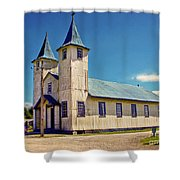 Church Of Chacao Shower Curtain